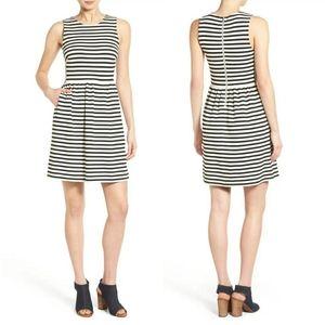 Madewell Afternoon' Stripe Sleeveless Dress
